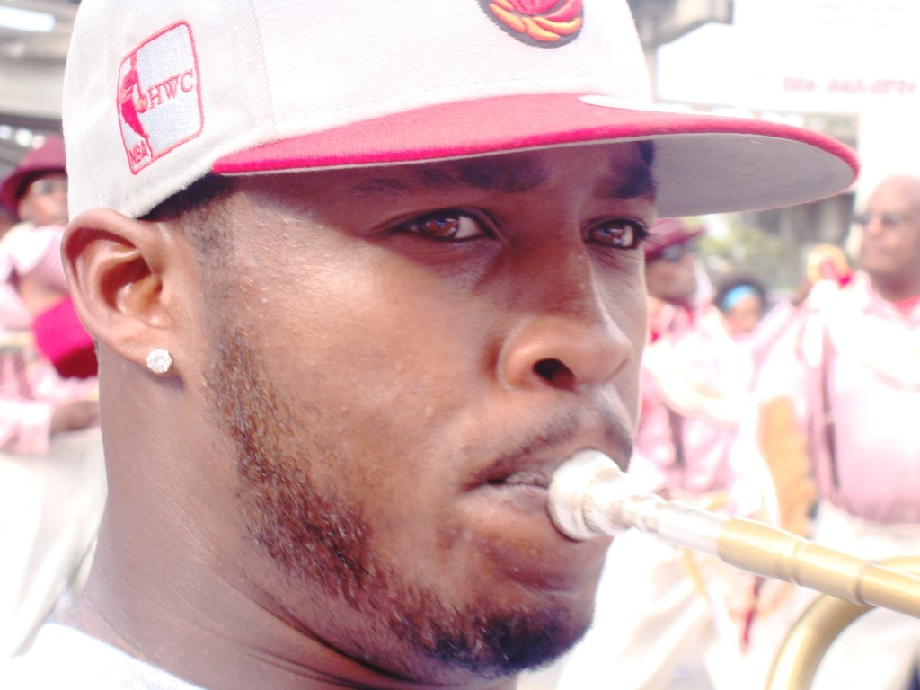 Young Man With His Horn
