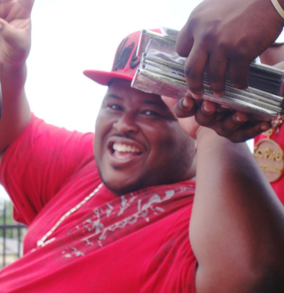 One Of The DJs For the Pigeon Town Steppers