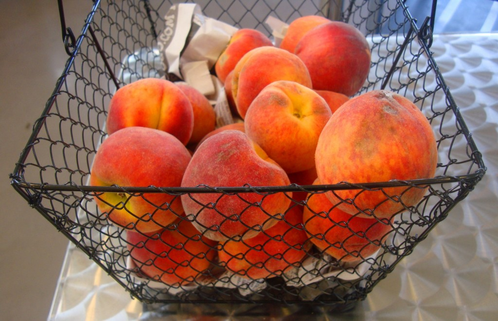 We Don't Like Peaches But These Sure Were Pretty