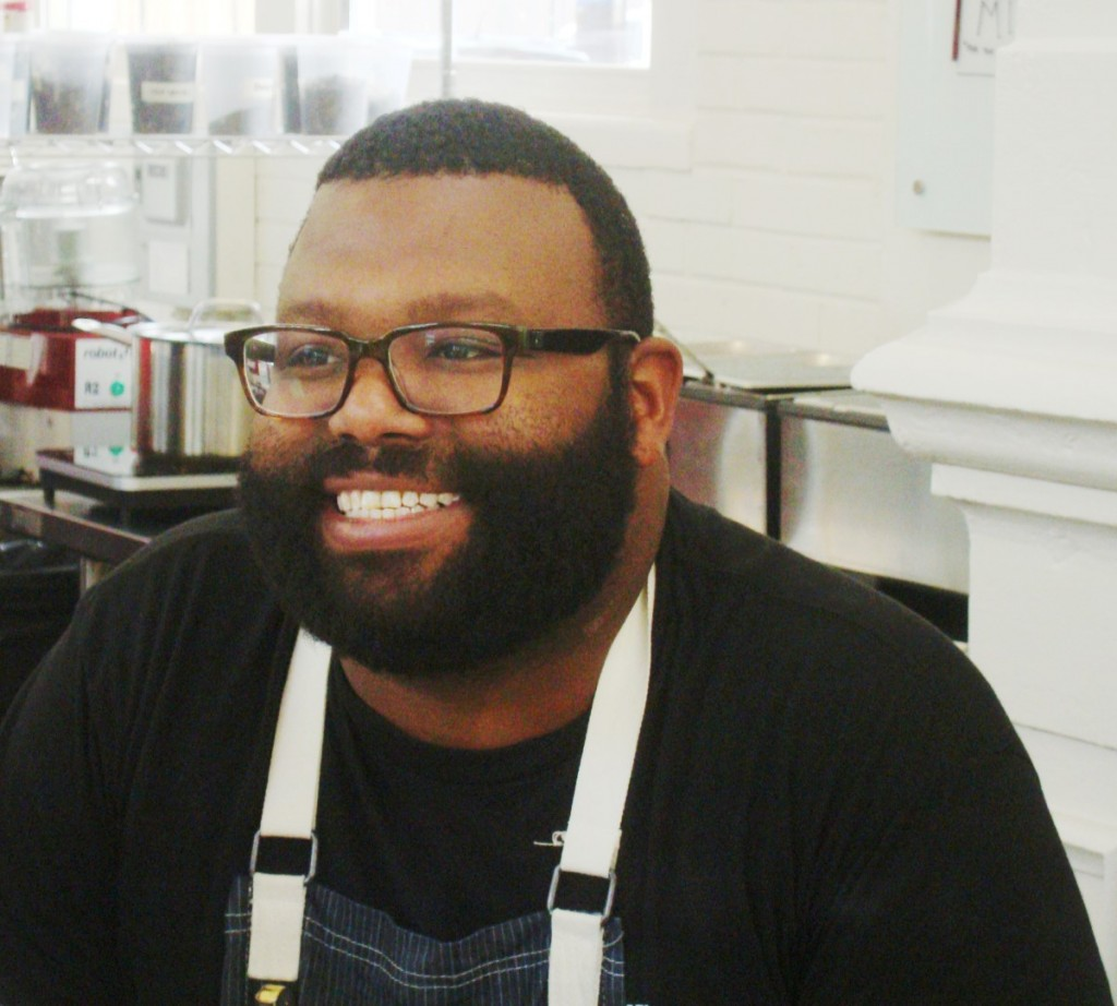 Affable Giant William Barial of PDR NOLA