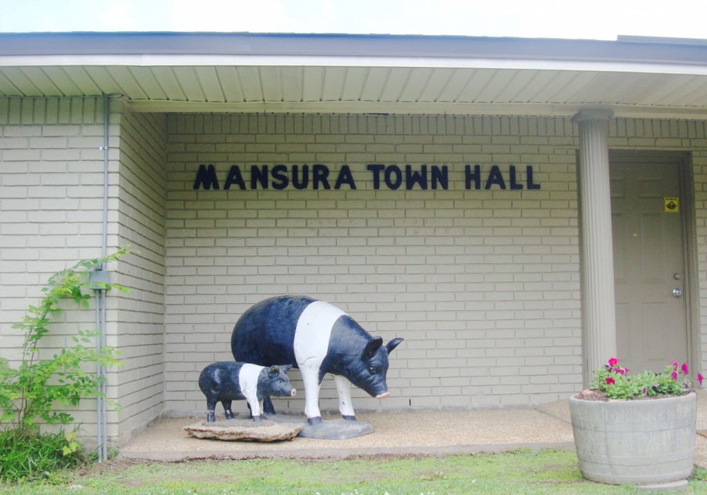 Mansura Louisiana Town Hall