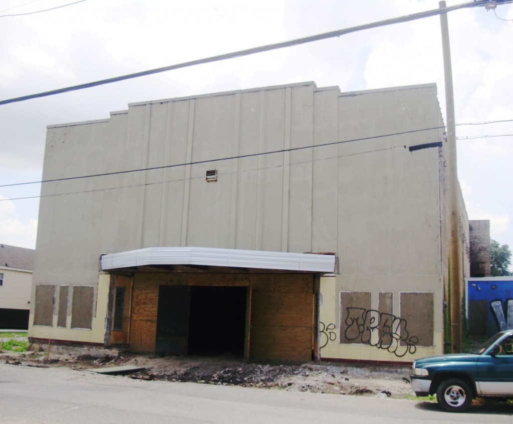 Exterior Of The Historic Gem Theater