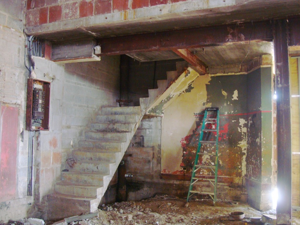 Stairwell Of Gem Theater