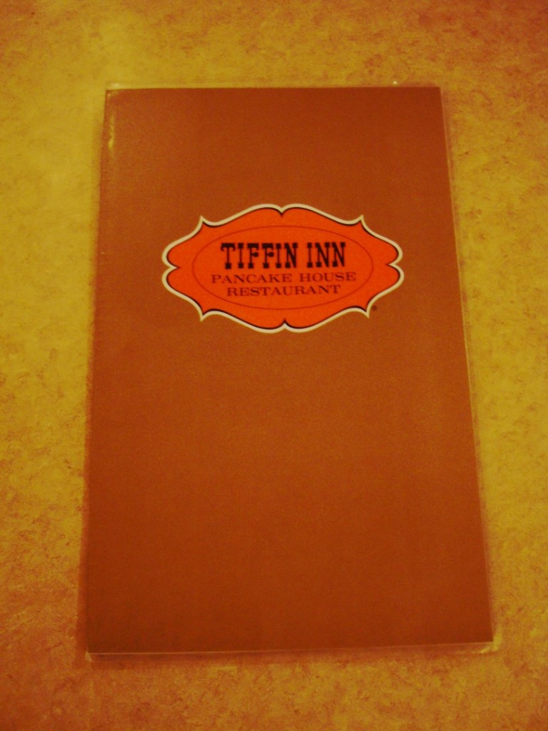 Menu From Tiffin Inn In Metairie Louisiana