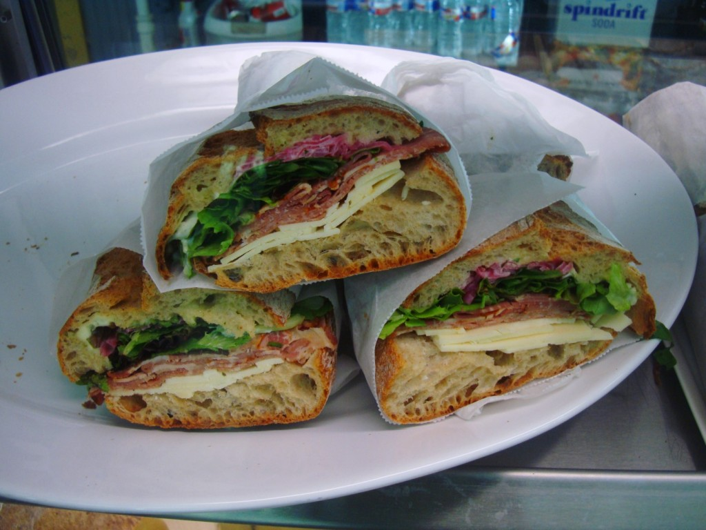An Array Of Sandwiches From Continental Provisions