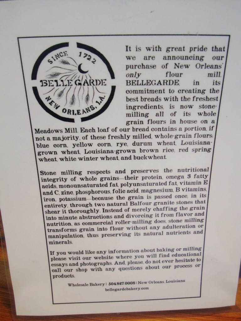 The Creed Of Bellegarde Bakery