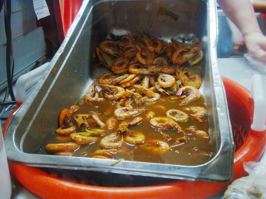Boiled Shrimp At Castnet Seafood