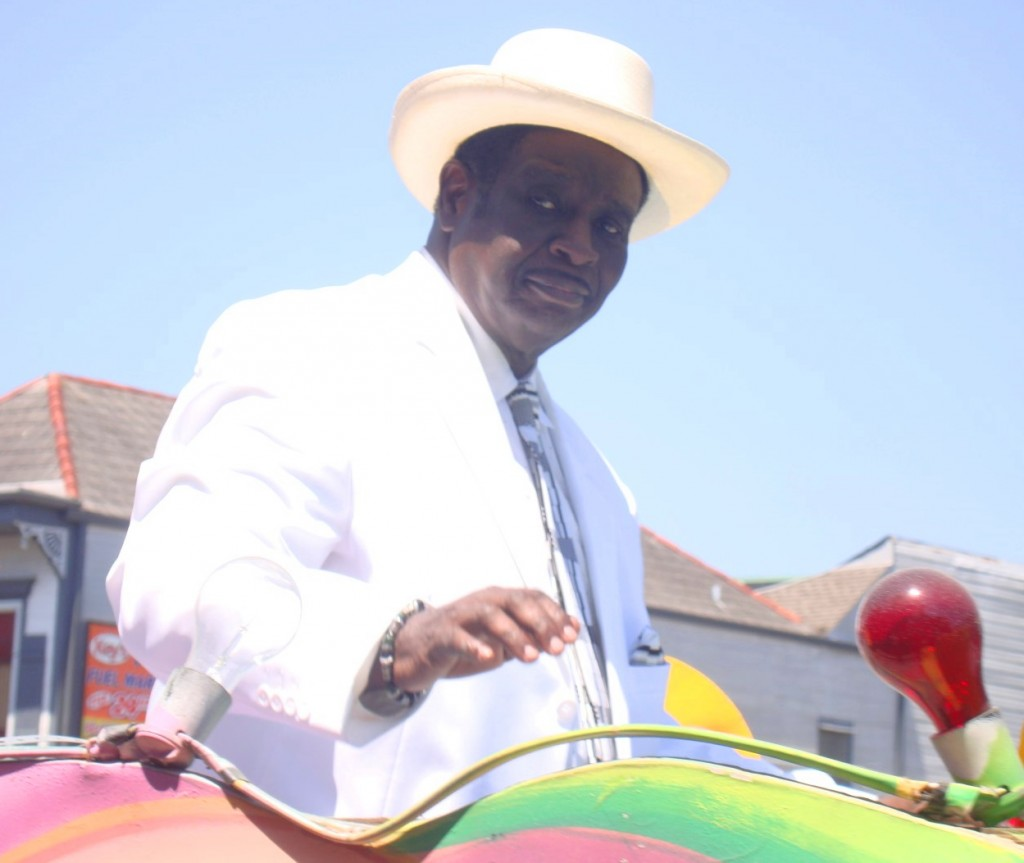 Al Johnson At Satchmo Second Line