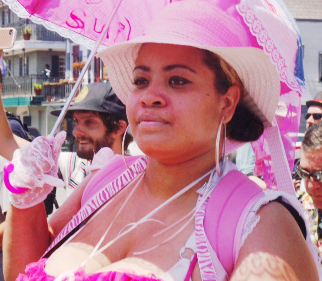 Unknown Baby Doll At Satchmo Second Line