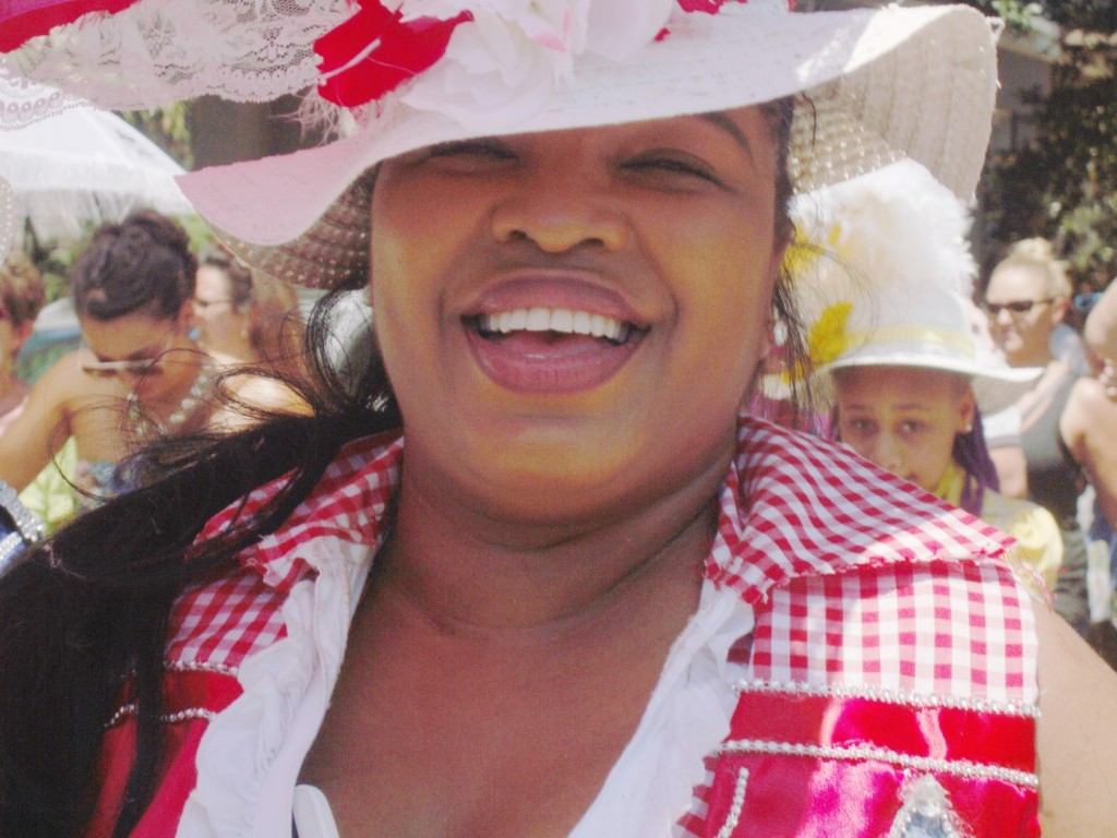All Smiles At Satchmo Summerfest Second Line