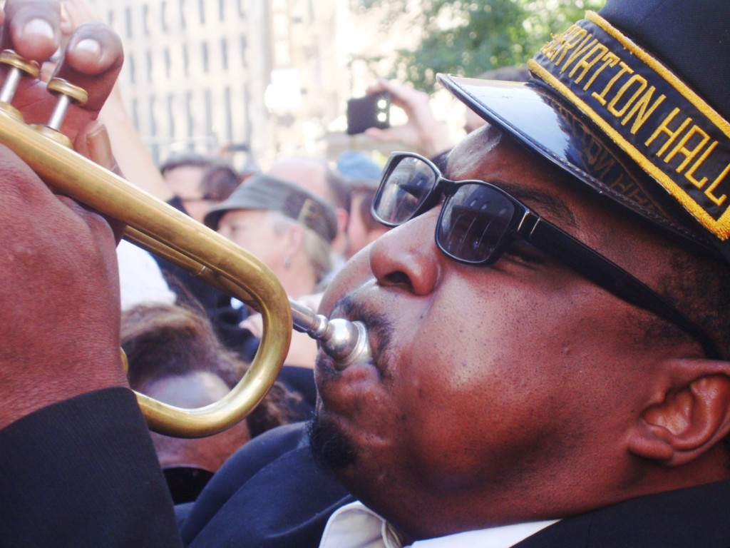 An Impromptu Second Line Broke Out At Allen Toussaint's Funeral