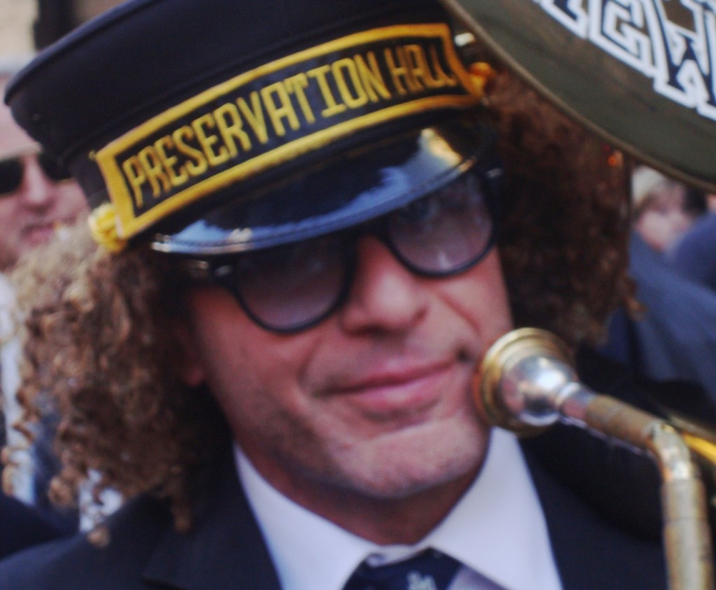 Preservation Hall Jazz Band's Street Performance At Allen Toussaint's Funeral