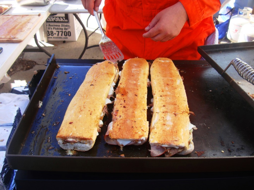 The Silence Of The Hams at 2015 New Orleans Po Boy Festival