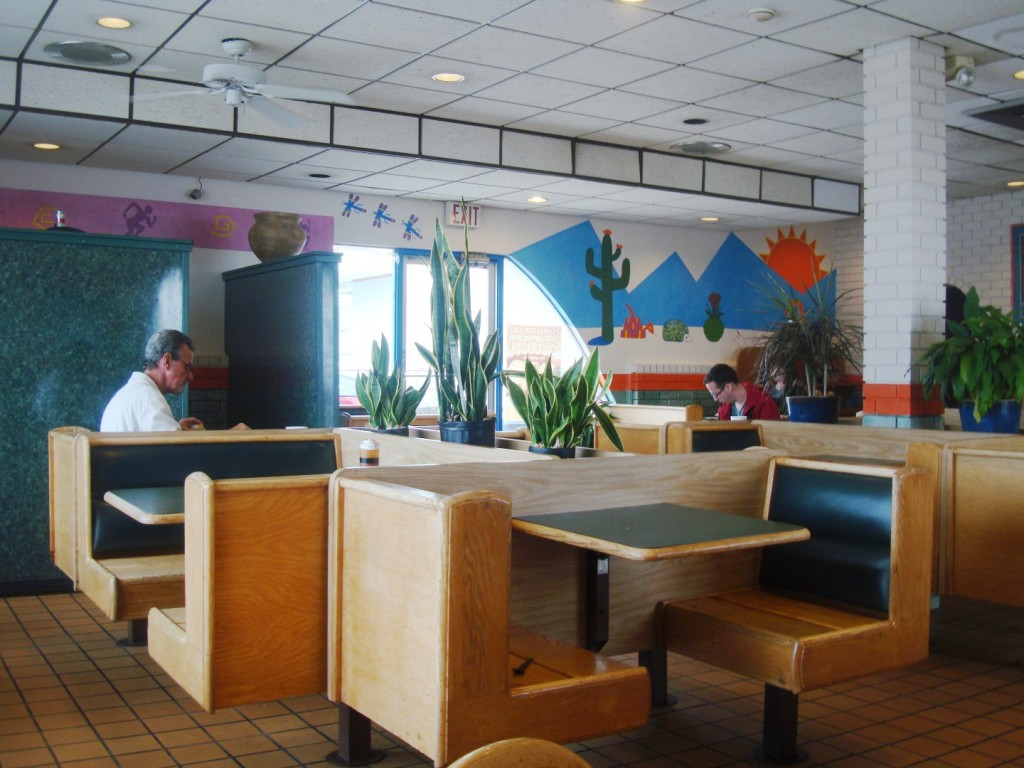 Interior Of The Last Taco Tico In Louisiana