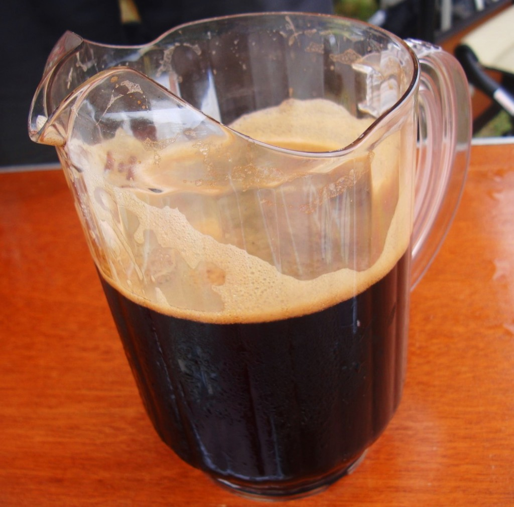 A Pitcher Of 512 Brewing's Russian Imperial Stout