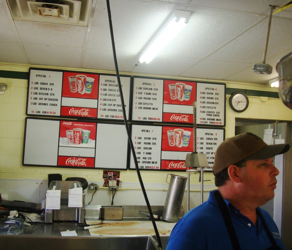 Mickey Michalik Is The Butcher and Owner Of Tag's Meat Market