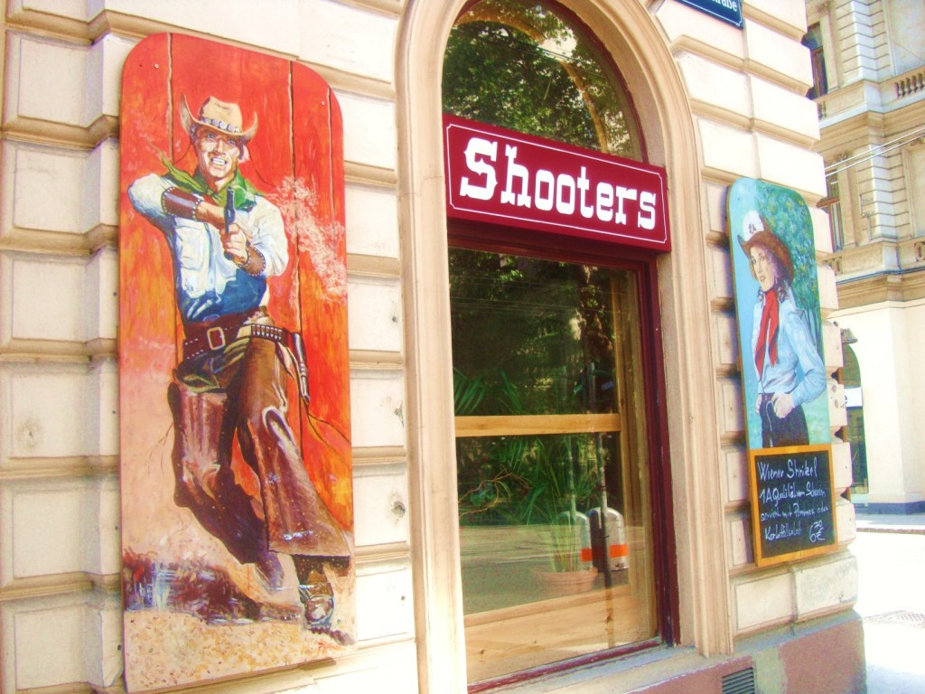 Shooters Bar In Vienna Austria
