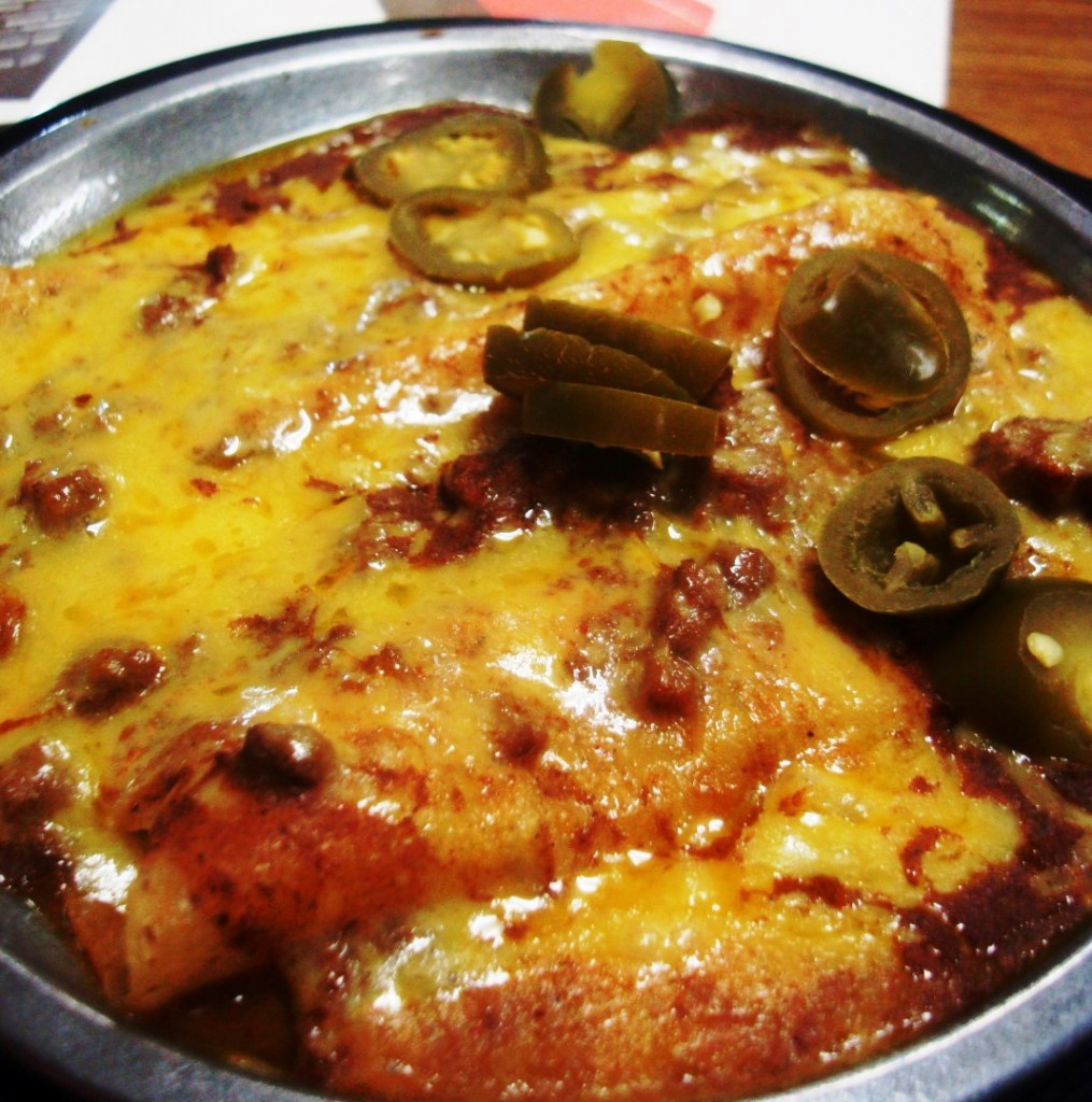 Dart Bowl Enchiladas via rl reeves jr