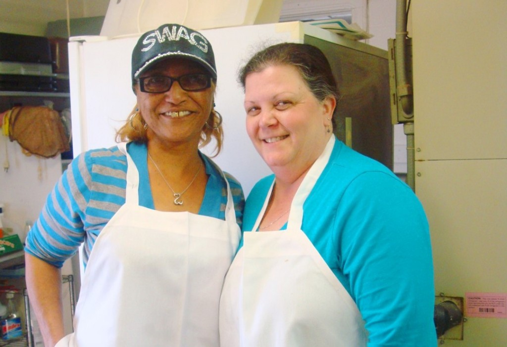 Brown Sugar And Katie Are A Formidable Team In Boutte's Kitchen