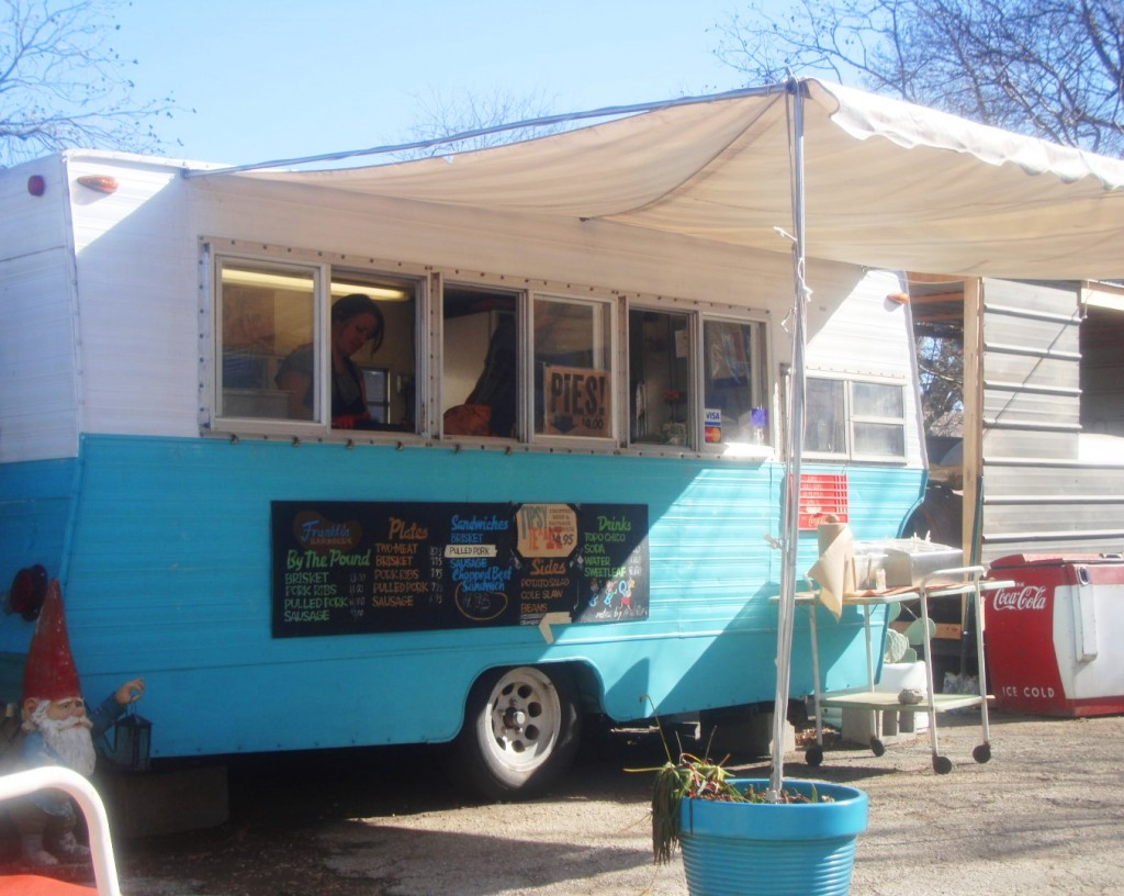 Franklin Barbecue Trailer in 2011