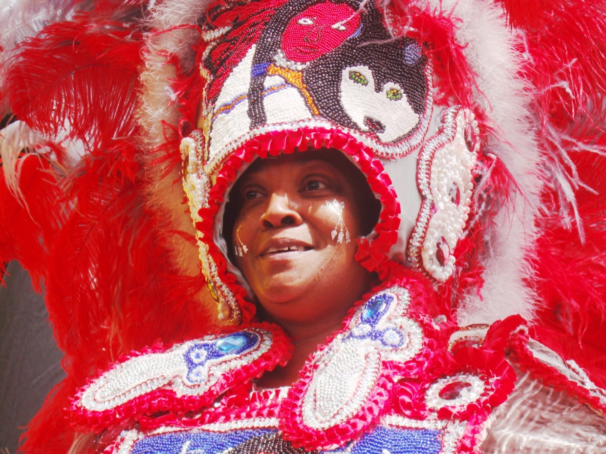 2016 Mardi Gras Indians Super Sunday Party In New Orleans