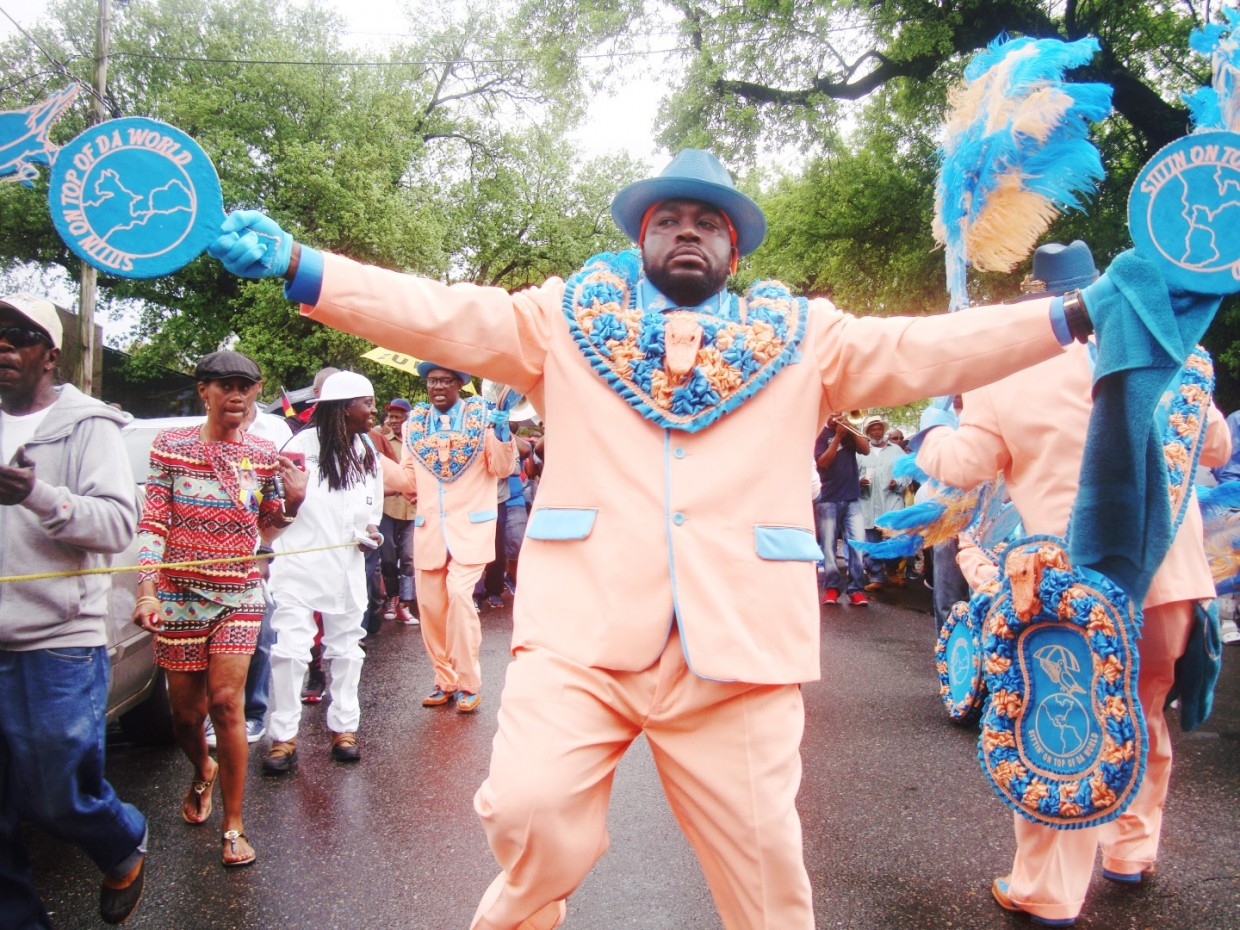 2016 Original Pigeon Town Steppers Second Line