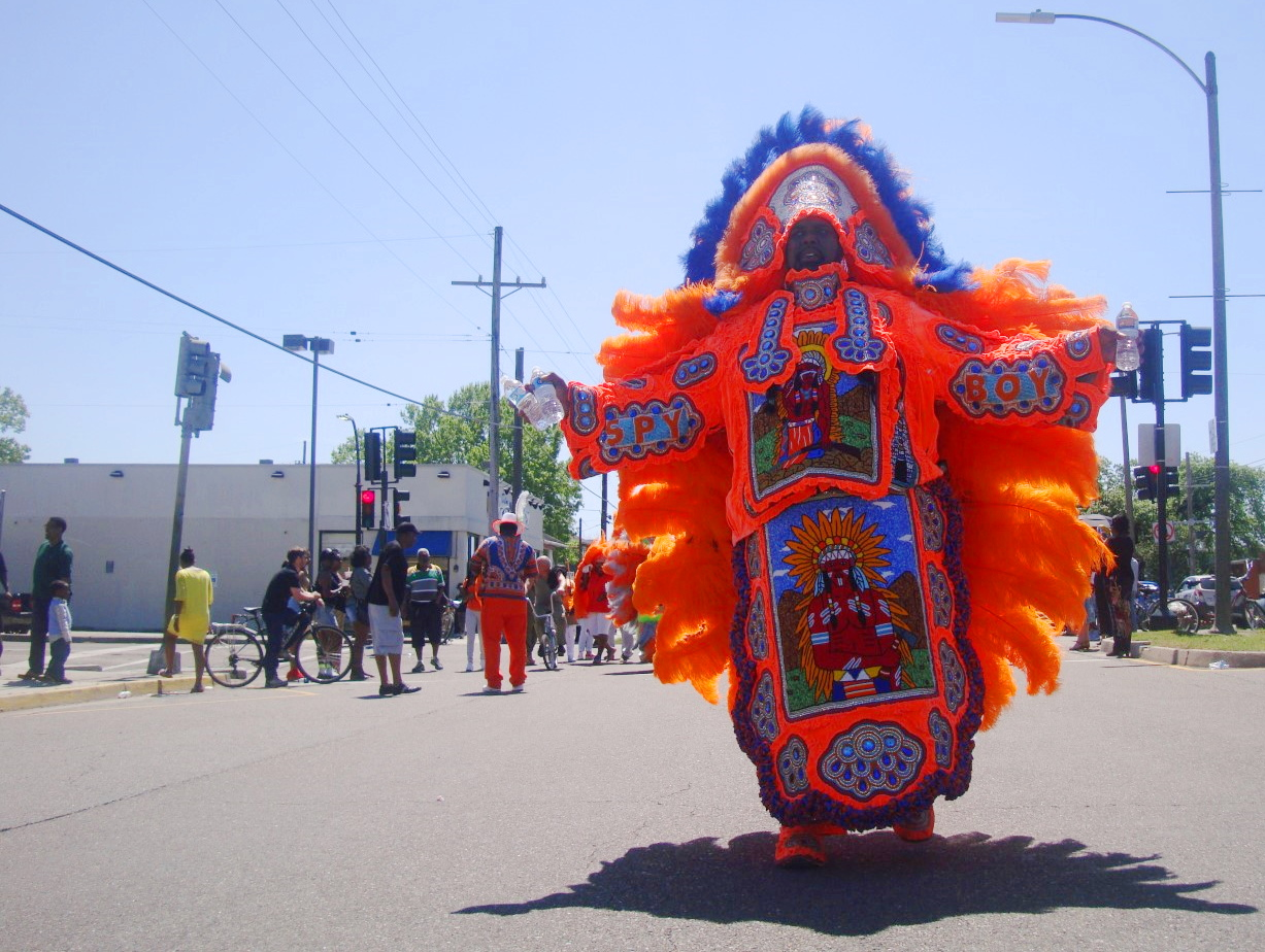 2016 Downtown Super Sunday Mardi Gras Indian Party