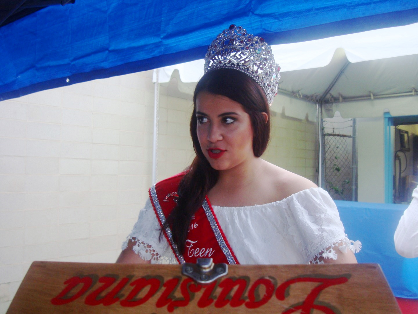 Sarah Melerine Is The 2016 Teen Queen Of Louisiana Crawfish  Festival