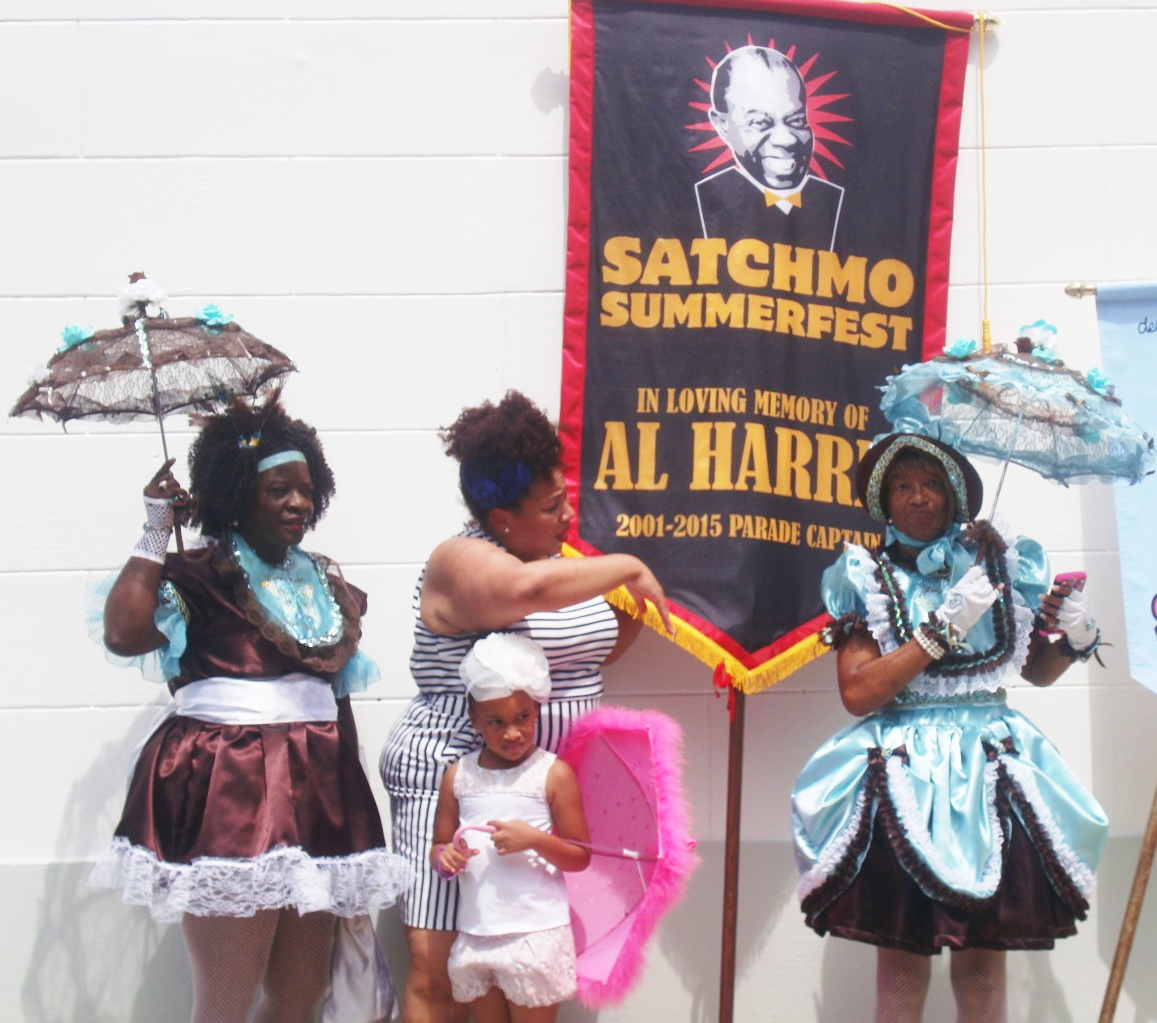Performers At Satchmo Summerfest