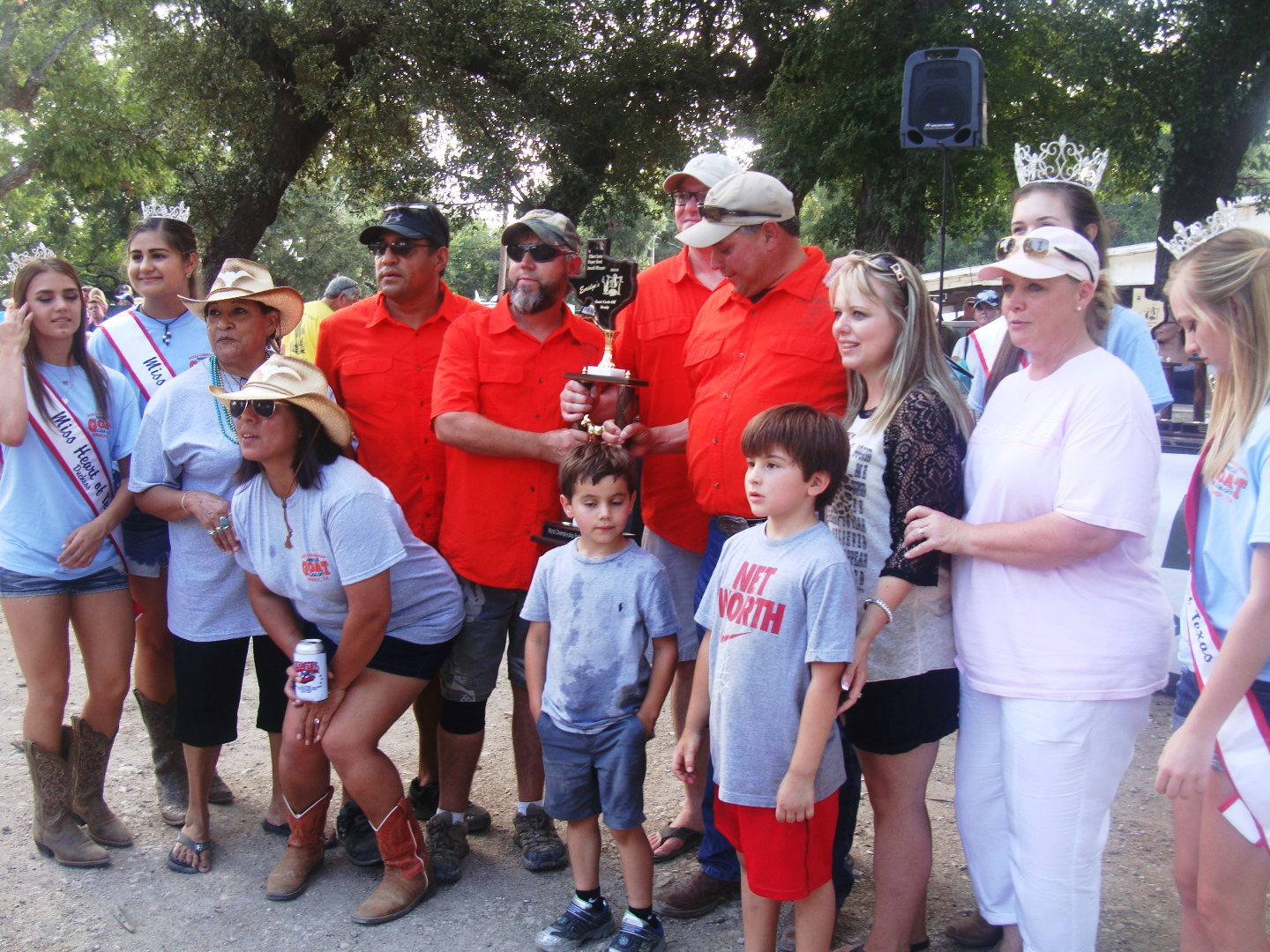 Los Quatros Locos Super Bowl Winners 2016 World Championship BBQ Goat Cook-Off In Brady Texas