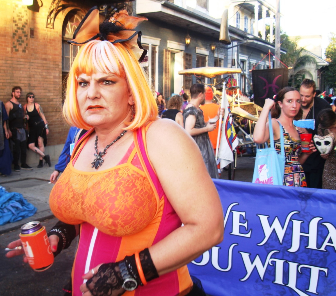 A New Orleans Pussyfooter Prepares To Roll