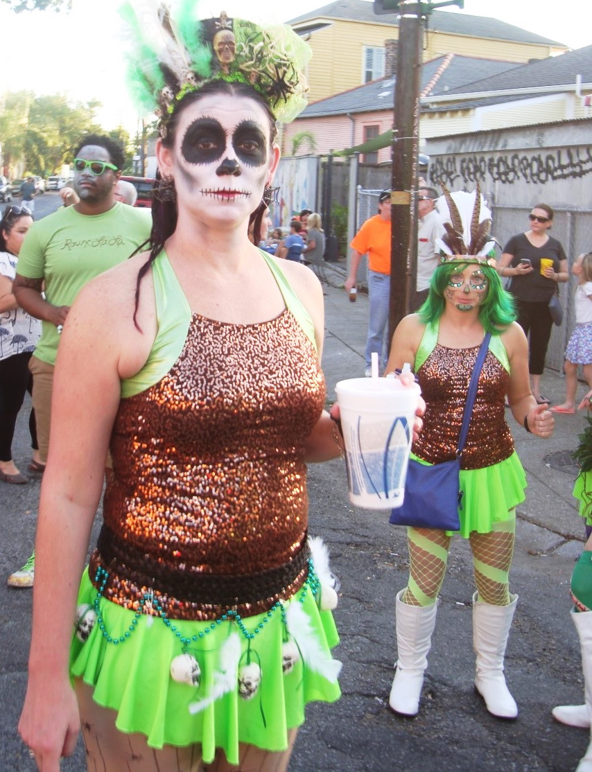 Day Of The Dead Comes Early In The Marigny
